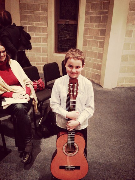 Guitar Student Recital Jan 2015