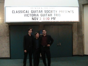 Victoria Guitar Trio plays Calgary