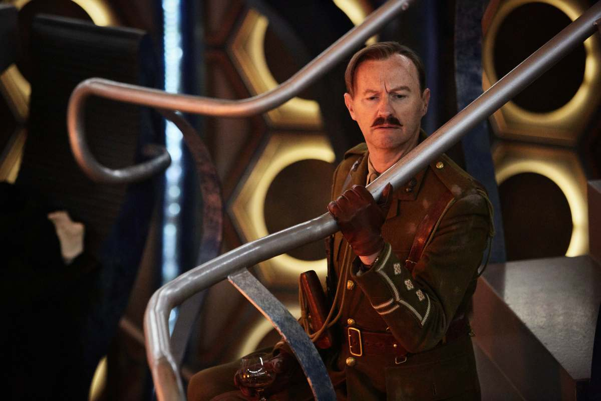 Image result for Mark gatiss captain