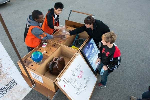 Informal Learning Popup Exhibits And
