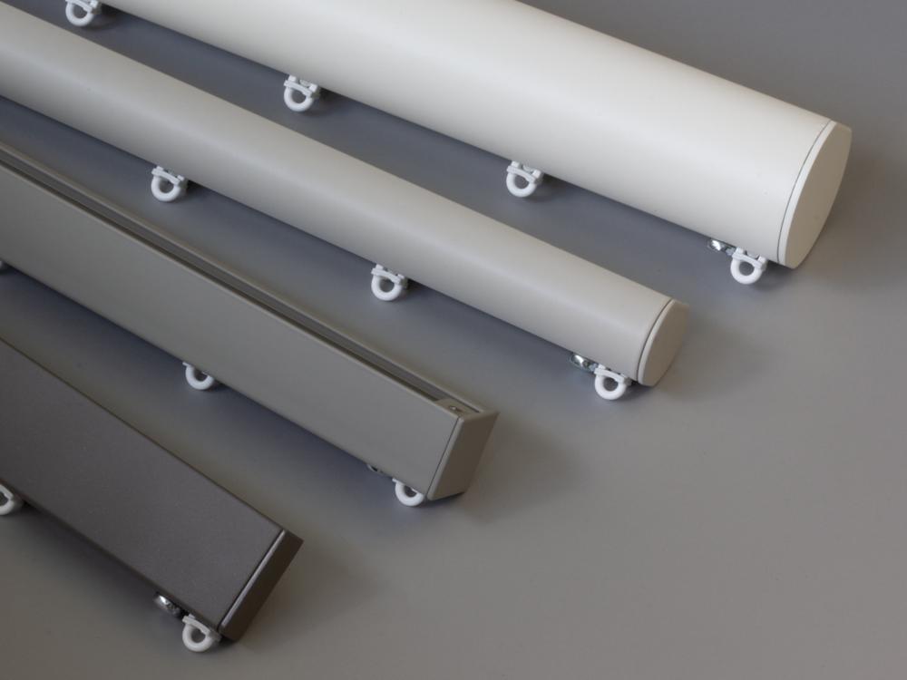 bay window curtain pole specialists