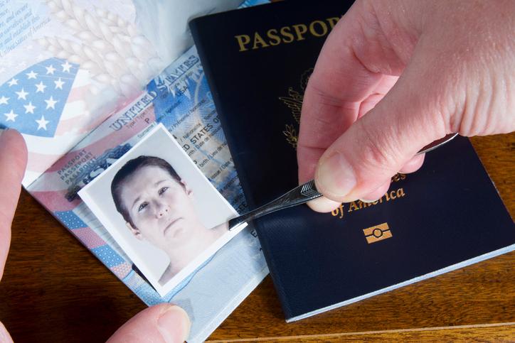 Creating a fake ID