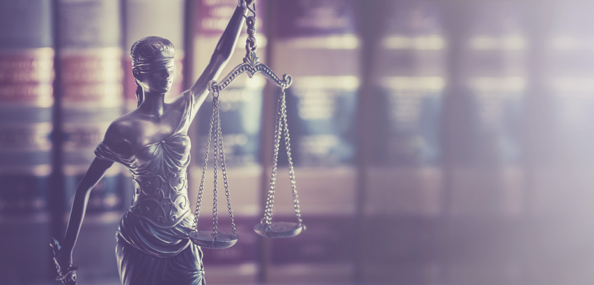 Legal law concept image gavel on book