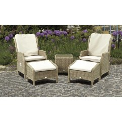 Outdoor Recliner Chairs Uk Ab Swivel Chair Bramblecrest Oakridge Casual In Set Bradleyfold Co