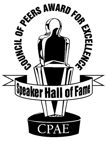 Speakers Hall of Fame — Council of Peers Award of