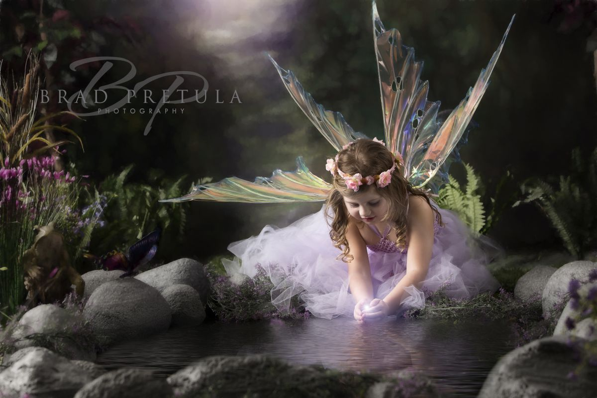 Studio Forest Fairy Photography