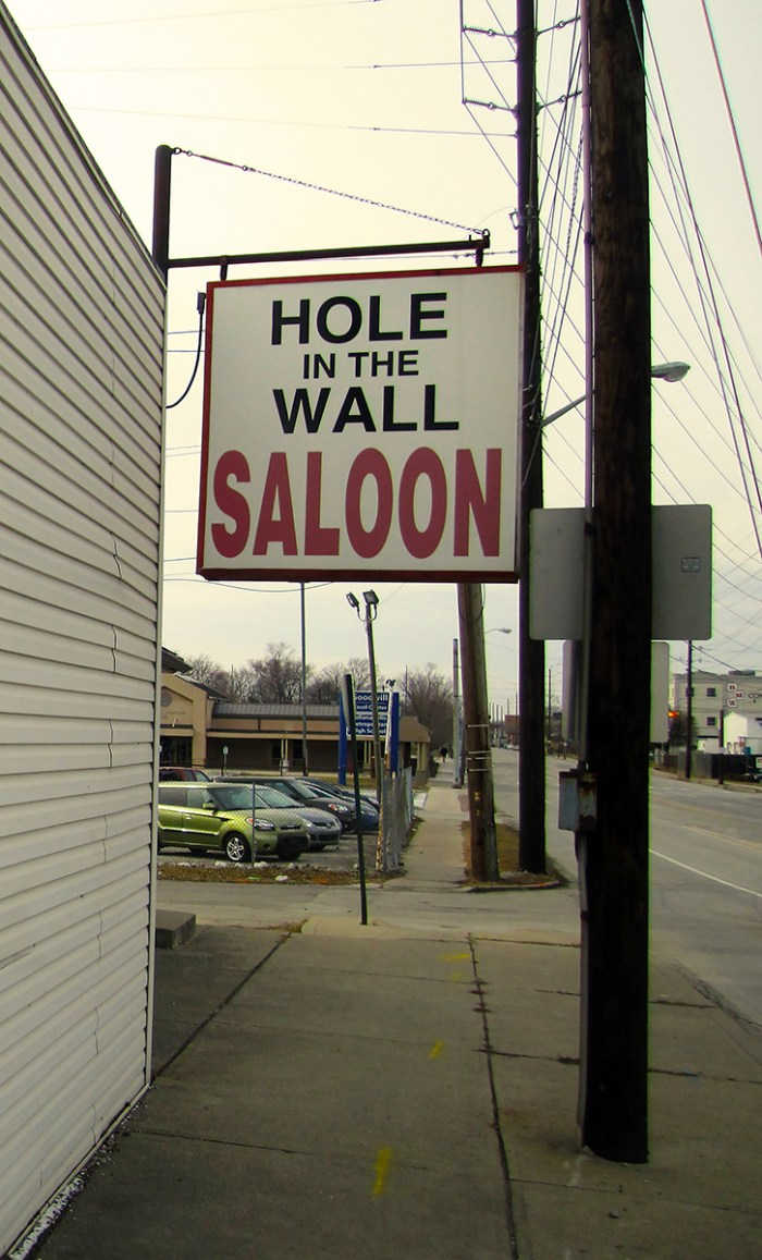 January 28th. Hole in the Wall Saloon. Indianapolis, IN.