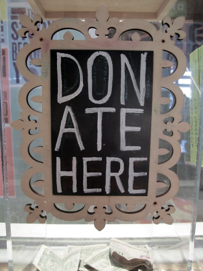January 30th. Don ate here. Indy Reads, Indianapolis, IN.