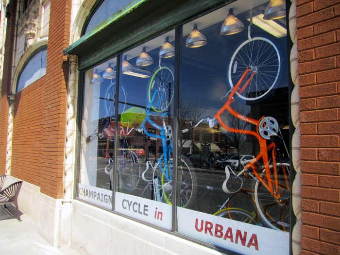 March 19th: Bicycle store.