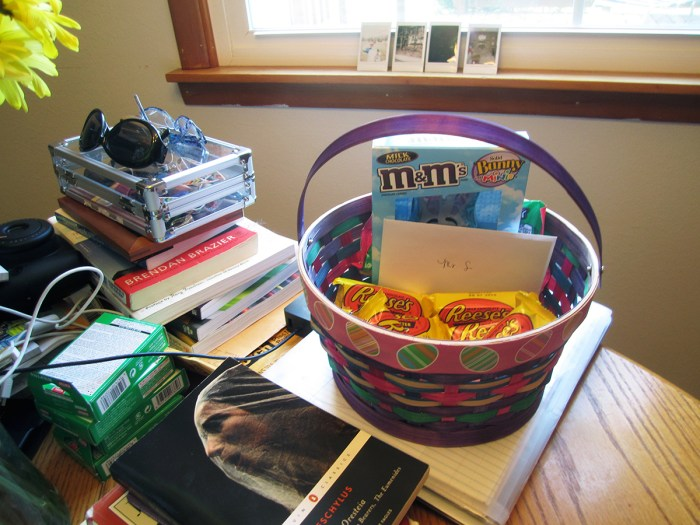 April 3rd: My Easter Basket.