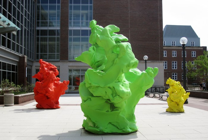 April 20th: Gooey Sculptures (Urbana, IL)