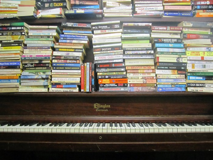 May 10th: Piano and Books (Springfield, IL)