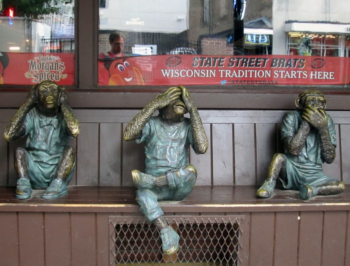 See, Hear, and Speak No Evil