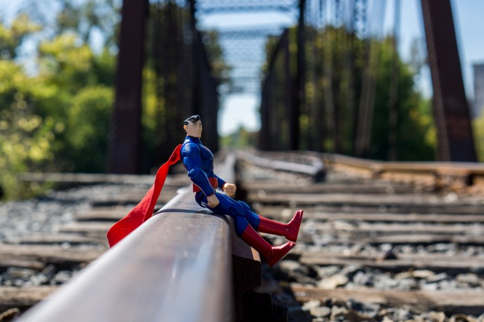 October 12th: Superman on tracks