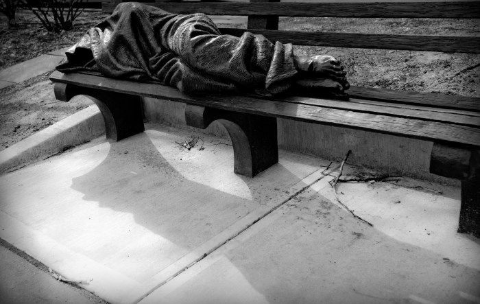 March 10th: Homeless Jesus