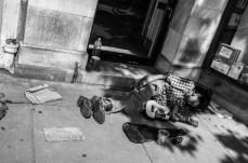 July 2nd: Homeless man clutching ukulele