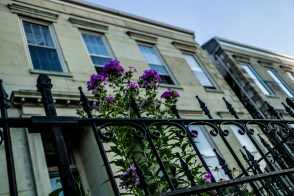 August 7th: Building and Flowers
