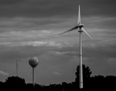 Oct. 8th: Windmill & Water Tower (Ogden, IL)