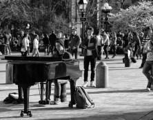 Pianist in Greenwich Village