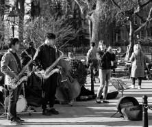 Jazz Band in Greenwich Village