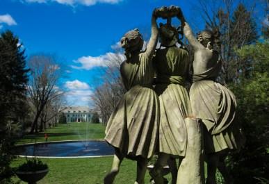 March 28: Statue