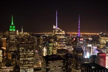 Manhattan from the Rockefeller