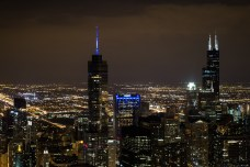 Aug 14: Chicago At Night (from Hancock Building)