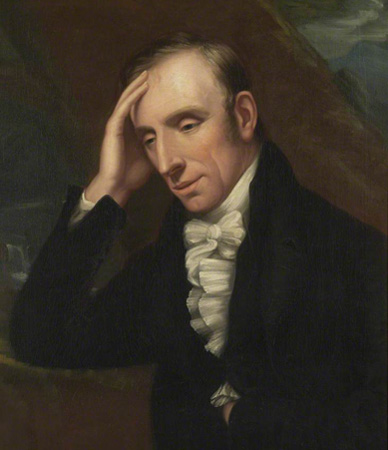 William Wordsworth (April 7th, 1770 -  April 23rd, 1850)