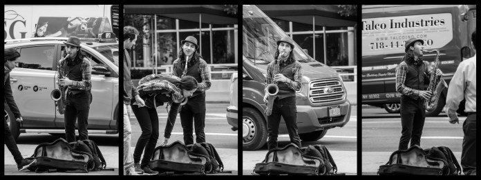 Oct 21: The Sax Player