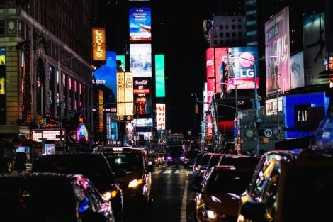 May 13: Times Square at Night