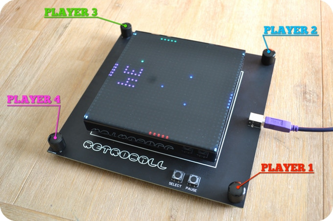 Retroball the build it yourself game kit brads electronic projects with a step by step building video and less than a dozen components to solder in retroball can be put together by even a newcomer to electronics solutioingenieria Choice Image