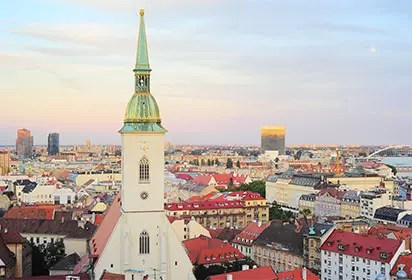 A walking tour of Bratislava's Old Town