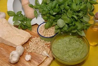 Pesto genovese Liguria