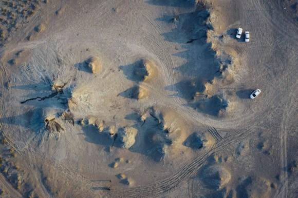Mud volcanoes Azerbaijan otherworldly landscapes