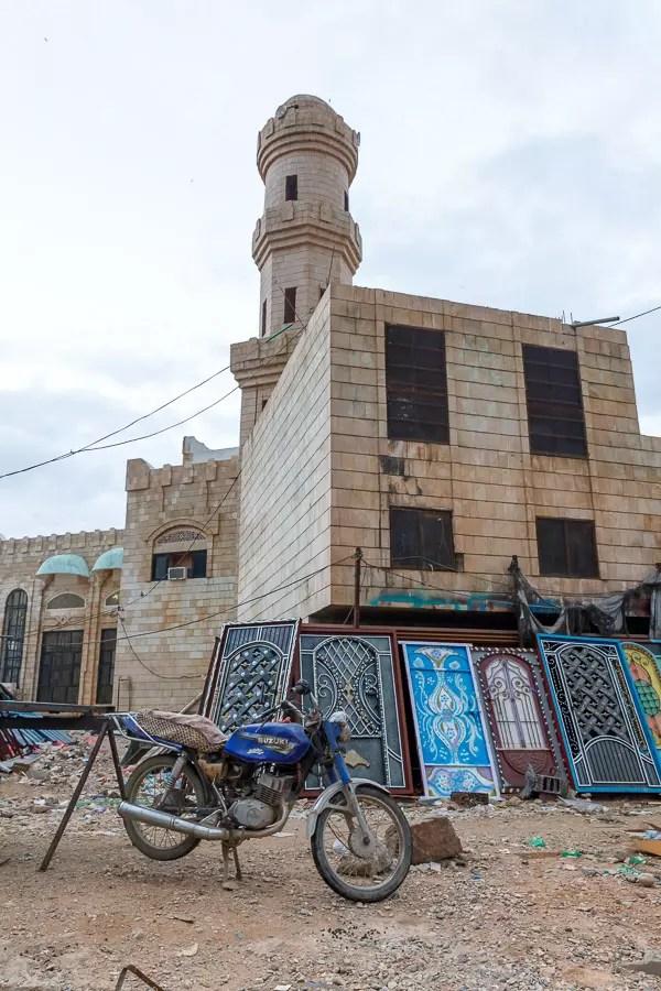 Mosque Hadibo Socotra Chris Miller