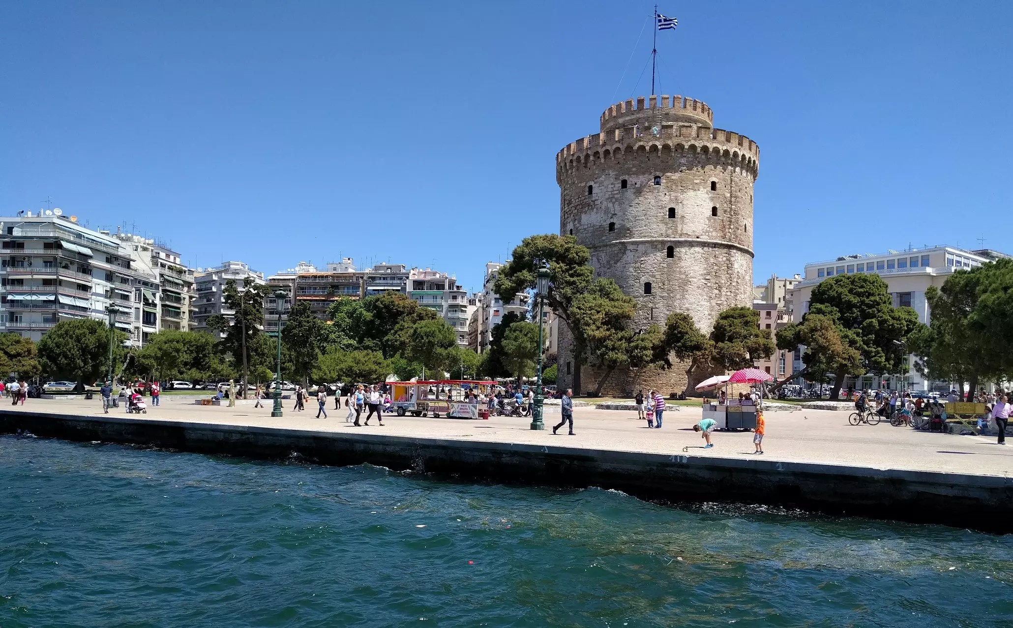 White Tower Thessaloniki Northern Greece by Sunvil