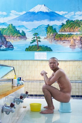 Traditional bathhouse Tokyo Japan by Simon Urwin