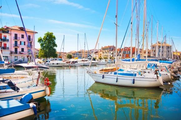Grado Harbour, Grado, Italy, by canadastock, Shutterstock
