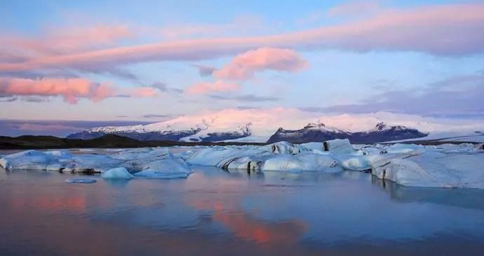 Iceland's natural wonders Jokulsarlon