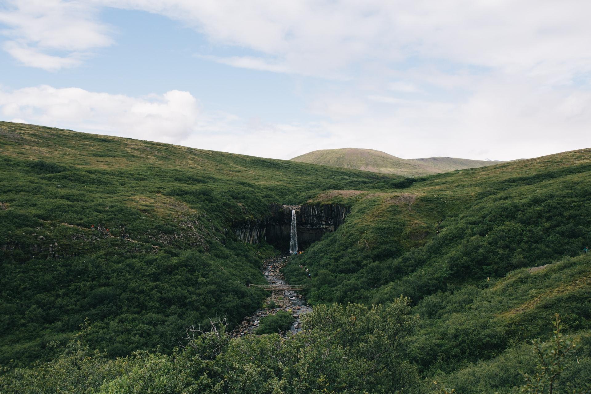 Iceland's natural wonders svartifoss