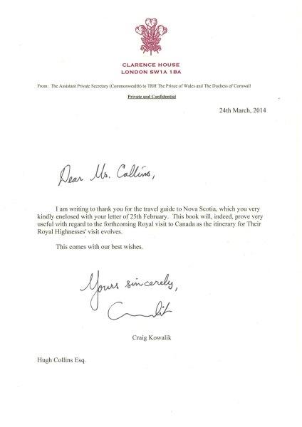 Bradt gets Royal approval