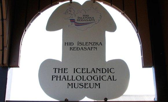 Icelandic Phallological Museum Rekyjavil Iceland by Wikimedia Commons