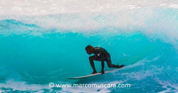 Surfing Ponta Preta Sal Cape Verde Africa by Marco Muscara