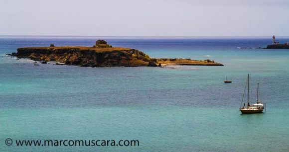 Sailing Sal Cape Verde by Marco Muscara