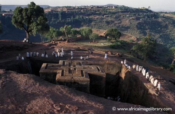 Lalibela Ethiopia by Africa Image Library