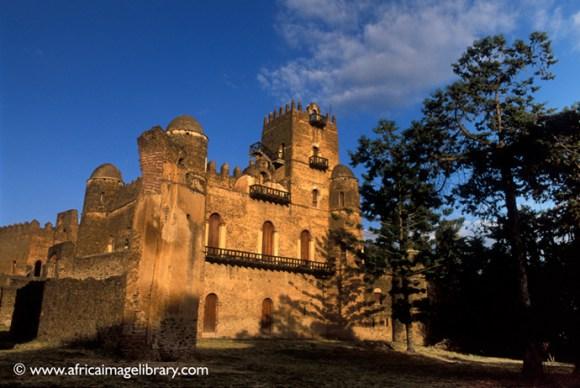 Gondar castle Ethiopia by Ariadne Van Zandbergen Africa Image Library