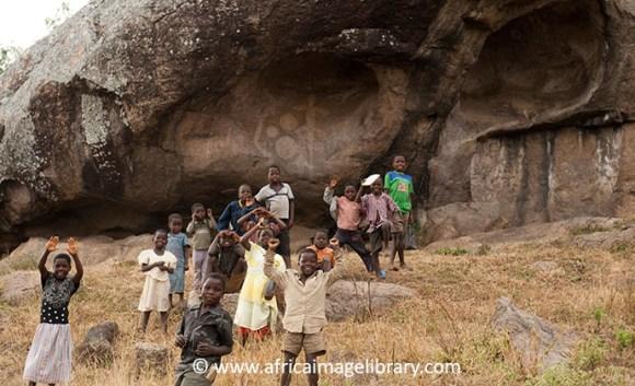 Chongoni Rock Art  Site Malawi by Ariadne Van Zandbergen