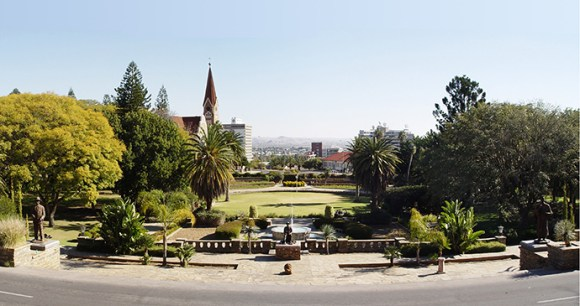 Parlamentsgarden, Windhoek, Namibia by WikimediCommons