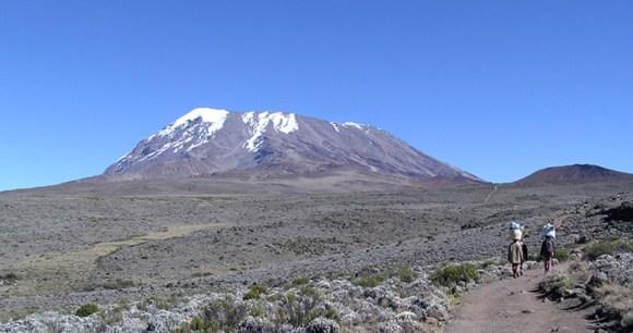 Mount Kilimanjaro Tanzania by Yosemite Wikimedia Commons