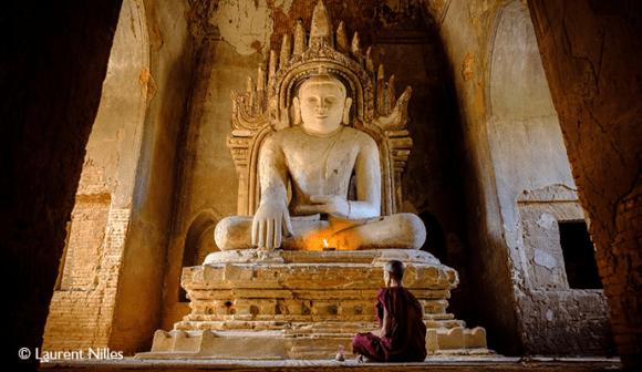Bagan monastery Myanmar Asia by Laurent Nilles